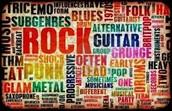 diferents groups rock