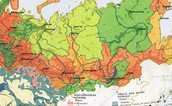 Climate and geography of Soviet Union