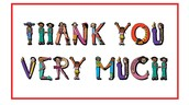 Thank you's and Shout out's to: