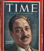 Time about Thurgood Marshall