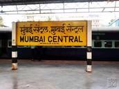 Mumbai central sign