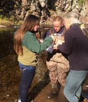 Students Dive in to Study Water Quality