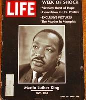 Life Magazine Featuring MLK