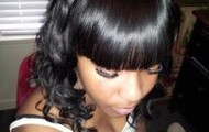 Full Sew-in wit Bang done by Co