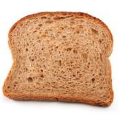 1 slice of bread, 1/2 English muffin, 1/2 bagel, 1/2 hot dog bun