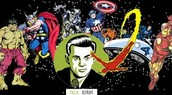 A.Jack Kirby lead a new perspective of to see comics  B.Jack Kirby had a legacy through his art style and work