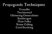 Propaganda Testimonials