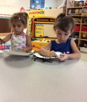 Using our fine motor skills to lace