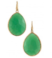 Serenity Stone Earrings - Jade