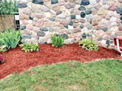 New mulch gives a fresh look!