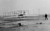 Wright brothers first propelled airplane.