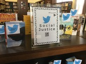 Social Justice book display
