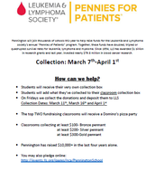 Pennies for Patients March 7 - April 1