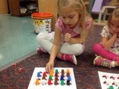 We are working on counting objects.