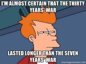 Thirty Years' War Meme