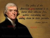 """""""The policy of the American gov. is to have their citizens free..."""""""