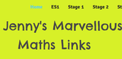 Jenny's Marvellous Maths Links