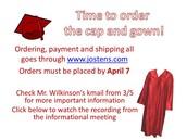 Attention graduates!
