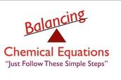 Balancing your equation, IUPAC, and Molar Mass