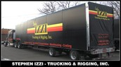 Stephen Izzi Trucking and Rigging, Edison NJ