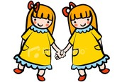 Monday October 26 is: Twin Day!