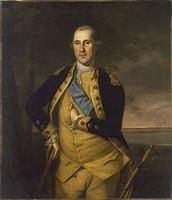 Start of George Washington's military career