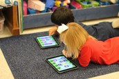 Book Area-Ipads with literacy apps