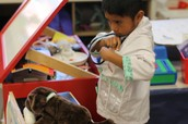 Dramatic Play Area-PRS Vet Clinic-Still the most popular learning area