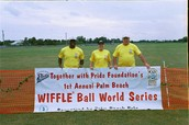 The first anual Together With Pride wiffle ball touroment