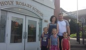 Dr. Uhl and Family Visited the School on Friday!