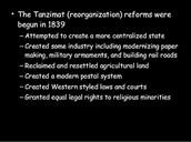 Tanzimat ( re-organization)