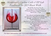 Atlanticare's Cardiac Cath & EP Lab  Fundraiser for 2015 Heart Walk- MARCH 31ST