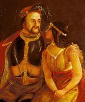 she married John Rolfe