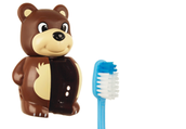 The Anti Bacterial Holder keeps your toothbrush clean and is EASY to use