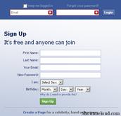 sign up/login