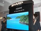 """Sharp 70"""" 4k BRAND NEW $3500"""