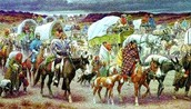 cherokee indians walking the Trail of Tears
