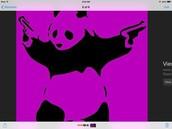 Purple panda!!!!
