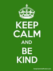 Start being kind
