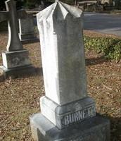 Andrew William Burnet's grave