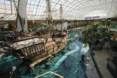 Christopher Columbus's ship in West Edmonton Mall