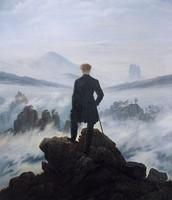 Wanderer Above the Sea of Fog, by Caspar David Friedrich, 1818
