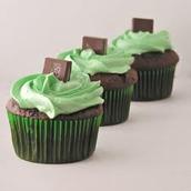 Peppermint Cupcake