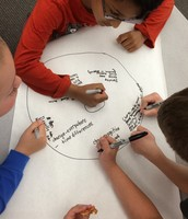 Using a thinking map to show change