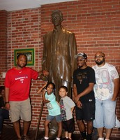 Museum in Kentucky with my uncles