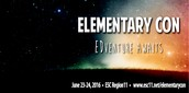 Elementary Con - Save the Date for June 24 & 25