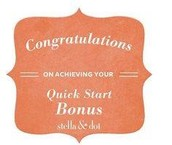 Quick Start Bonus Earners