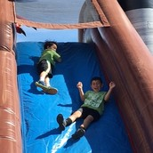 Giant Inflatable Obstacle Course/Slide