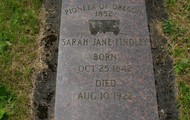 Gravestones could mark the trail for a long time.