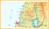 צפון הארץ מחולק ל-6 אזורי משנה: